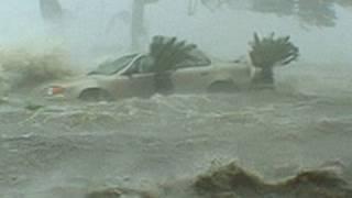 Hurricane Katrina Historic Storm Surge Video  Gulfport Mississippi