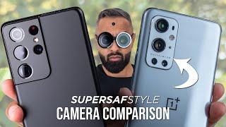 OnePlus 9 Pro vs Galaxy S21 Ultra Camera Test Comparison