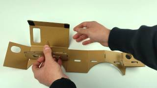 Google Cardboard Assembly - Step by Step Instructions