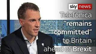"""Telefónica """"remains committed"""" to Britain ahead of Brexit"""