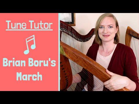 Free Harp Lesson: Your first tune! | Learn Brian Boru's March easy harp