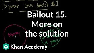 Bailout 15: More on the solution