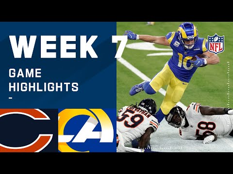 Bears vs. Rams Week 7 Highlights | NFL 2020