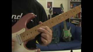 Doug Steele: Dokken Without Warning guitar solo lesson