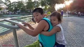Hai anh em Muội đi chơi công viên bờ hồ❤