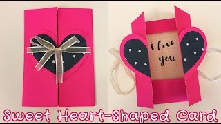 Easy Pop-up Card for Boyfriend / Girlfriend | Sunny DIY