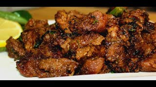 Best Mutton / Beef Roast Recipe - How To Make Mutton Roast Restaurant Style At Home