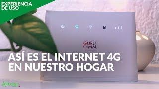 INTERNET por 4G en casa, EXPERIENCIA DE USO: buena alternativa al Internet convencional de México