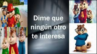ALVIN Y LAS ARDILLAS _ DE PIES A CABEZA LETRA ( MANA & NICKY JAM )