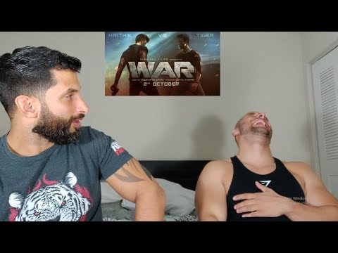 War | Official Teaser | Hrithik Roshan | Tiger Shroff | Vaani Kapoor [REACTION]
