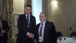 Հայաստանի և Չեխիայի ԱԳ նախարարների հանդիպումը