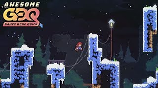 Celeste by TGH in 1:28:03 - AGDQ2019