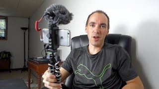 iPhone 6s with Rode VideoMicro Rig Unboxing and Test Footage
