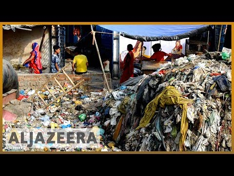 🇮🇳 On #WorldEnvironmentDay, New Delhi slum is drowning in plastic