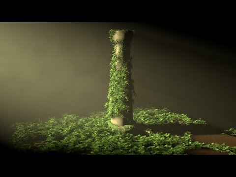 Tutorial Cinema 4D : Ivy Grower Plugin