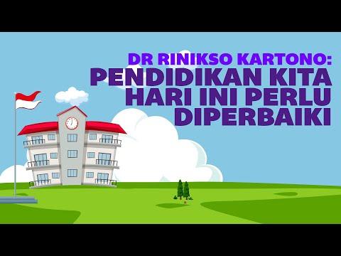 Dr Rinikso Kartono: Pendidikan Kita Hari ini Perlu Diperbaiki