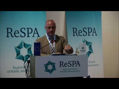 Khaldoun Sinno, Deputy Head of the Delegation of the European Union to Bosnia and Herzegovina ReSPA Ministerial Conference: Good Governance in the Western Balkans Mostar, 12-13 June 2018