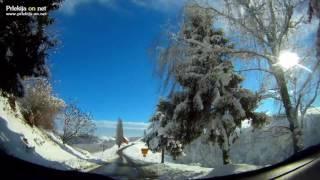 Zimska idila v Prlekiji