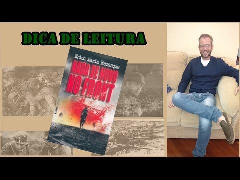#CURIOSIDADESLITERARIAS - Erich Maria Remarque - NADA DE NOVO NO FRONT
