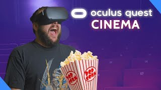 "(Video) ""Experience Ultimate Home Theater With Oculus Quest VR"""