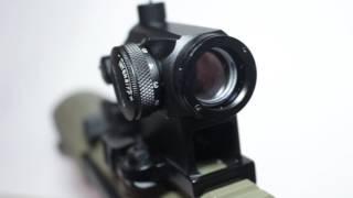 Обзор на коллиматорный прицел Aimpoint Micro-T1