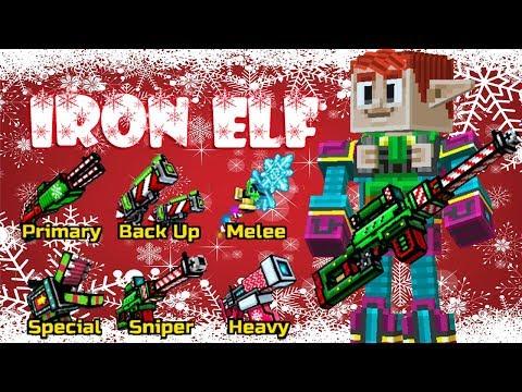 Pixel Gun 3D - Iron Elf Set