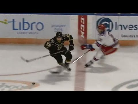 Knights' Rob Thomas shows smooth moves to score hot one