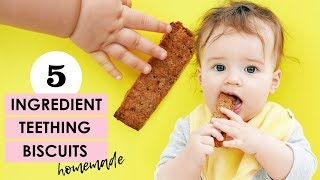 The Best Homemade Teething Biscuit Recipe EVER!
