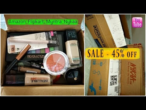 *BEST MakeUp SALE* - Amazon, Flipkart, Nykaa, Myntra, Jabong