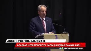 Akşehir'de ağaç hassasiyeti