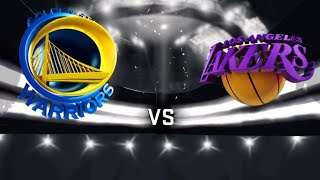 Golden State Warriors Vs. Los Angeles Lakers LIVE STREAM Reaction