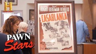 Pawn Stars: Casablanca Movie Poster | History