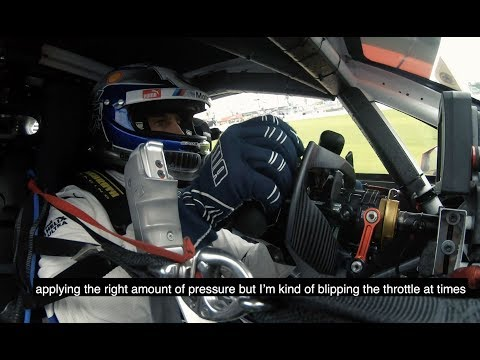 Alex Zanardi drives the BMW M8 GTE in Daytona - BMW M Motorsport.