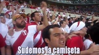Perú Rumbo a Rusia 2018 | Alienta Peruano | Sudemos la camiseta (Letra)
