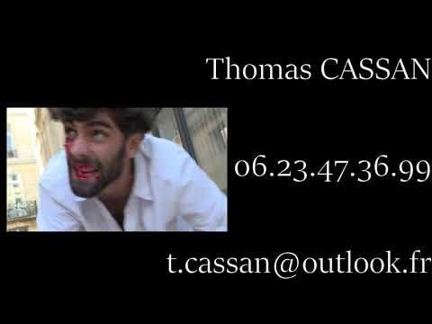 Bande-démo Comédien Thomas CASSAN
