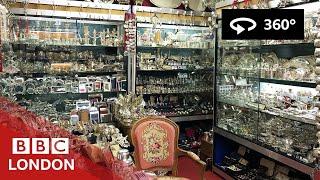 360° Video: Inside the London Silver Vaults - BBC London