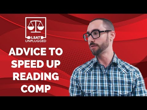 LSAT Reading Comprehension: Advice to Speed Up (from Instagram Live)