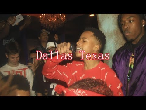 Tay-K Performs Megaman , Sly Cooper And More (Dallas Texas) Shot By @Jmoney1041