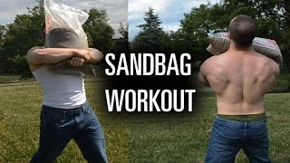 Killer Sandbag Conditioning Workout (GPP)