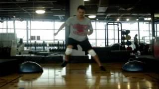 Hockey Goalie Specific Training feat. Jeremie Dupont
