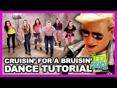 "Teen Beach Movie ""Cruisin' for a Bruisin"" Dance Tutorial with Kent Boyd - Clevver Breakdown (видео)"