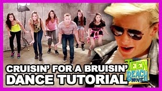"Teen Beach Movie ""Cruisin' for a Bruisin"" Dance Tutorial with Kent Boyd - Clevver Breakdown"