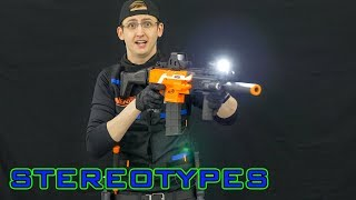 NERF STEREOTYPES   THE LOW-LIGHT OPERATOR