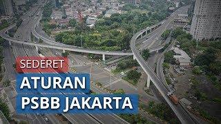 Aturan PSBB Jakarta, dari Ojol Dilarang Angkut Penumpang hingga Larangan Kumpul Lebih dari 5 Orang