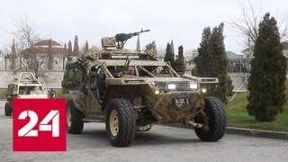 Кадыров оценил возможности новой машины для спецназа - Россия 24