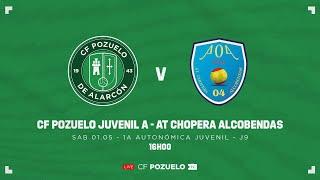 R.F.F.M. - PRIMERA DIVISIÓN AUTONÓMICA JUVENIL (Grupo 1) - Jornada 9 - C.F. Pozuelo de Alarcón 1-1 Atlético Chopera Alcobendas 04