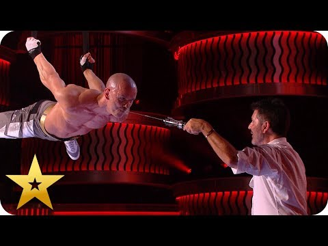 Most DANGEROUS acts from BGT: The Champions (видео)