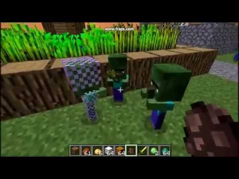Minecraft - B06 - Honey, our zombie kids are hungry! (baby zombie siege) 👶👶👶
