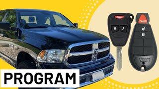 How to Program Dodge Key Fob (NO Dealership!) Chrysler & Jeep too