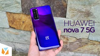 Huawei nova 7 5G Unboxing and Hands-On